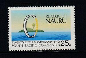 NAURU 25th Anniversary South Pacific Commission MNH stamp