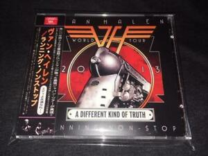 VAN HALEN RUNNING NON STOP 2 CD A Different Kind of Truth 2013 Japan Last Live