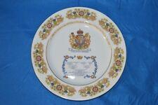 Aynsley Commemorative Plate - Queen Elizabeth II  lineage 80 birthday 1980