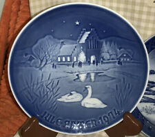 1974 Bing & Grondahl Christmas In The Village Collector Plate 7�