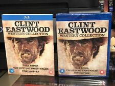 Clint Eastwood Western Collection Pale Rider, Unforgiven, Outlaw Josey Wales New