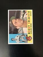 *** 1960 TOPPS #400 ROCKY COLAVITO CLE INDIANS— HIGH END💥***