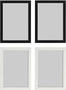 IKEA Fiskbo Photo Frame Picture Document Black White 10x15 13x18 21x30 (A4)