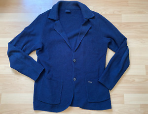 JOOP! Cardigan/Strickjacke dunkelblau Gr. L Modern Fit Original o. E. getragen