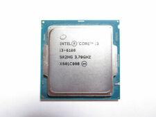 Intel Core i3-6100 Dual-Core 3.70GHz Socket 1151 CPU Desktop Processor, SR2HG