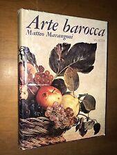 MATTEO MARANGONI - ARTE BAROCCA - VALLECCHI, 1973