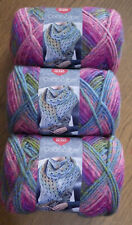 Lot of 3 Skeins, Red Heart Colorscape Yarn, 3.5 oz, 187 yds, Shanghai