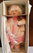 Knowles~Ashton Drake~'Sarah' Doll~ Yolanda Bello~1987~Bear~ Box~Coa Nib