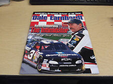 DALE EARNHARDT SR  TRIUMPS BOOKS MAGAZINE REMEMBERING THE INTIMIDATOR ISSUE