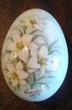 Vintage Collectible Egg Easter Noritake 1972 Bone China Japan No Stopper