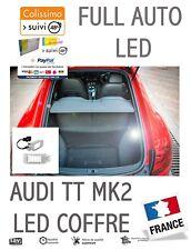 AUDI TT MK2  MODULE LED COFFRE / BOITE A GANTS / SOL  Pur Blanc OBD Canbus