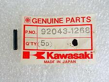 Kawasaki NOS NEW  92043-1268 Spring Pin 3x16 KEF KLF KVF KEF300 KLF400 1985-99