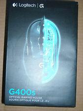 Brand NEW Logitech G400s 910-003589 Optical Gaming Mouse 4000 dpi