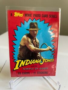 Indiana Jones & the Temple of Doom FULL SET OF 88 cards & 11 stickers TOPPS!