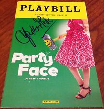 HAYLEY MILLS PARTY FACE SIGNED PLAYBILL PARENT TRAP POLLYANNA NYC