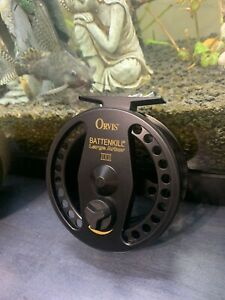 *NEW UNUSED* Orvis Battenkill 3 Large Arbor Fly Reel 4-7WT