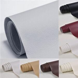 Lederreparatur Kunstleder Flicken Selbstklebend Patch Sofa Reparatur  50x137cm