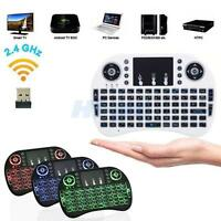 Mini 2.4GHz Wireless Keyboard Fly Air Mouse Touchpad For Android Smart TV Box PC