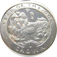 elf IOM 1 Crown 1994 Year of the Dog Shih Tzu