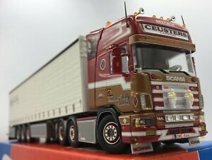 Tekno Willy Ceusters Scania 4 Series & Curtain Box & Cert 1/50