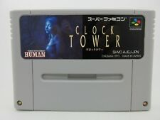 CLOCK TOWER USED Nintendo Japan SNES Super Famicom Japanese Free Shipping