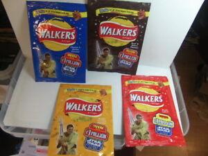 Walkers Crisps – Star Wars Episode 1 four advertising packs 1999