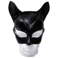 Halloween Batman Catwoman Mask Latex Helmet Halloween Cosplay Props