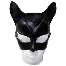 Batman Catwoman Mask Latex Helmet Halloween Cosplay Props
