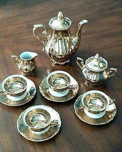 Bavaria Porcelain Gold Tea Set
