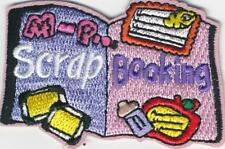 Girl Boy Cub SCRAPBOOKING scrapbook Fun Patches Crest Badges SCOUT GUIDE book