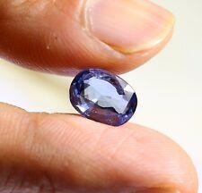 3.53 Ct Natural Blue Sapphire Loose Sri-Lanka Gemstone VS Eye Clean 9.97*8.52 MM
