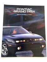 1996 Pontiac Grand Prix 16-page Original Car Sales Brochure Catalog - GT SE