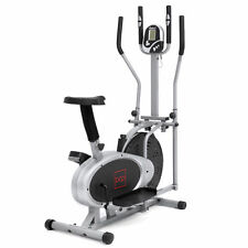 Elliptical Bike 2 IN 1 Cross Trainer Exercise Fitness Machine Upgraded Model
