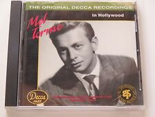 "CD : Mel Torme "" en Hollywood "" Decca 1992 ~20 Pop Vocal Jazz Show Tunes"