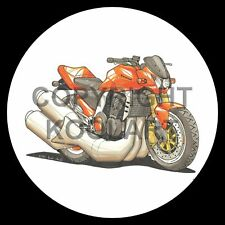 Koolart 4x4 4 x 4 Spare Wheel Graphic Kawasaki Z1000 Sticker 1708