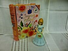 "Enesco Ceramic Birthday Doll Age 14 ""Pre-owned"""