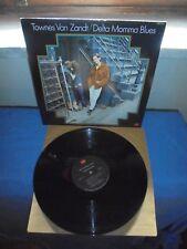 "Townes Van Zandt ""Delta Momma Blues"" LP Tomato – TOM-7013 USA 1978"