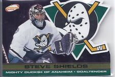 2001-02 ATOMIC GOLD PARALLEL STEVE SHIELDS /200 2 PACIFIC DUCKS