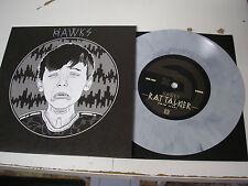 "Hawks - Rat Talker b/w Smile 7"" single new  gray vinyl w/ download code"