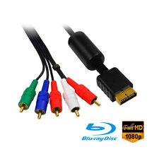 Cable Video composante (Component) Pour PS2/PS3