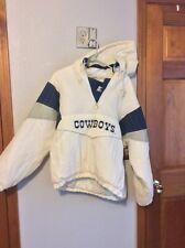 Vintage NFL Starter Dallas Cowboys 1/2 Zip Pullover Coat Size MED non smoking