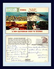 CALIFORNIA NEW CALIFORNIAN EVERY 93 SECONDS 1969 BETTY HUCHESON, BIRMINGHAM, AL