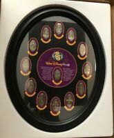 Rare Disney Elongated Quarters Set - 1997 25th Disneyanna Convention #98 of 200