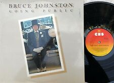 Bruce Johnston ORIG OZ Promo LP Going public EX '77 Beach Boys Pop Rock