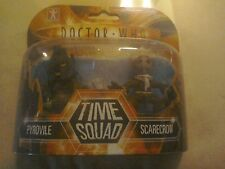DR WHO TIME SQUAD Pyrovile & Scarecrow twin pack collectable BNIB