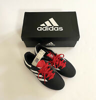New Adidas Youth Boys Sports Soccer Cleats Shoes Size 3 Black White Red Goletto