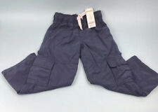 NWT Gymboree Size 7 Boy's Blue Carpenter Style Ribbed Comfort Waist Lined Pant