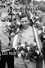 Jim Clark Lotus 25 Winner Dutch Grand Prix 1964 Photograph 4