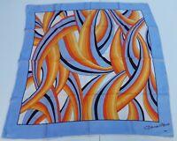 Foulard carré scarf Firenze 100% silk pura seta original made in italy