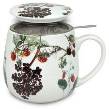Taza de té con criba y tapa My Favourite tea rosas caninas Könitz